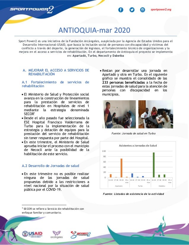 A. MEJORAR EL ACCESO A SERVICIOS DE REHABILITACIÓN A.1 Fortalecimiento de servicios de rehabilitación • El Ministerio de S...