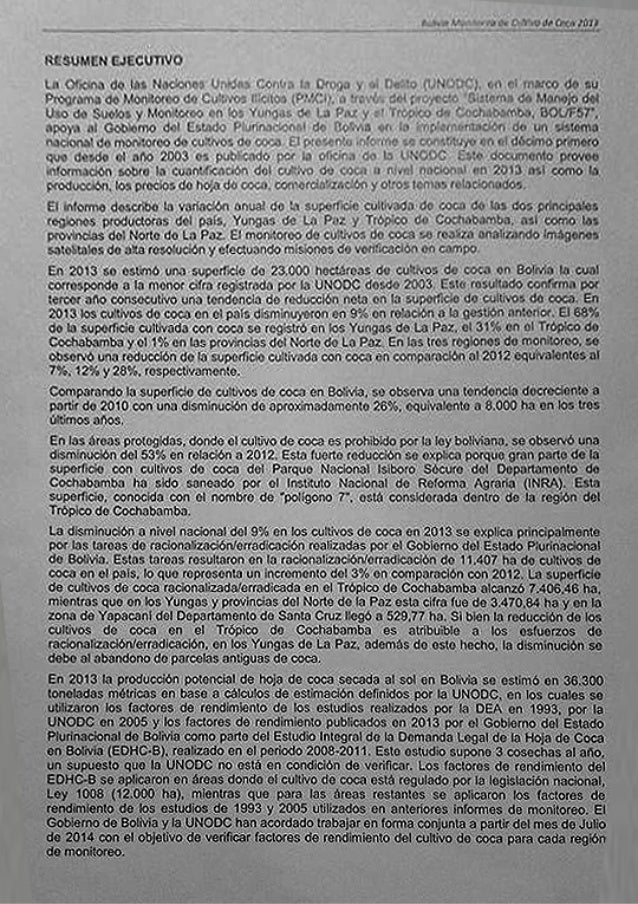 Informe unodc 2014