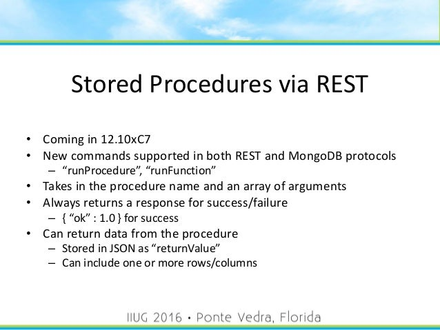 Informix REST API Tutorial