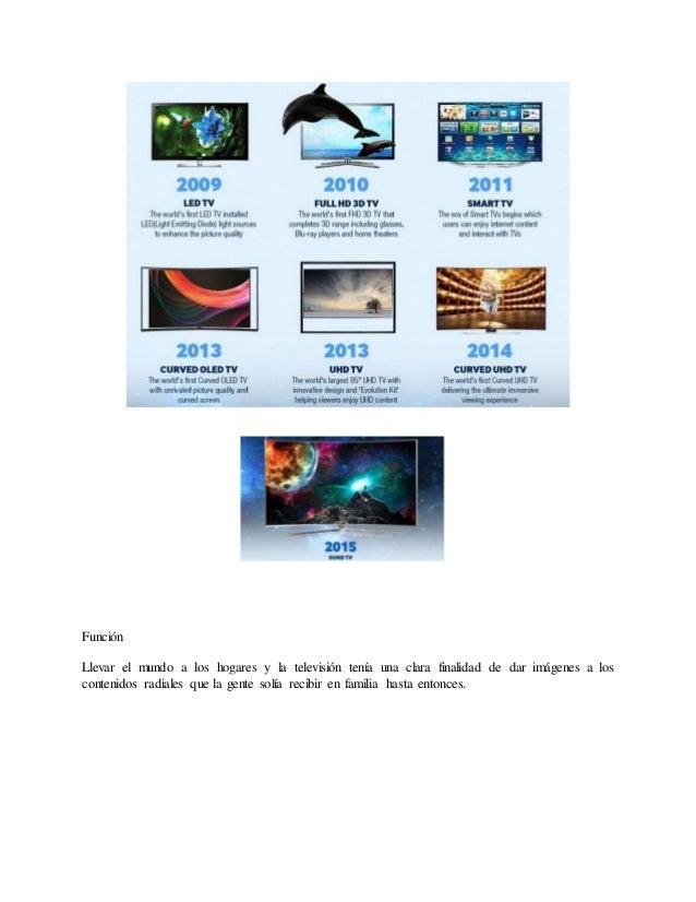 EL TELEVISOR Y SU EVOLUCIÓN.  Slide 3