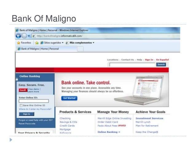Bank Of Maligno
