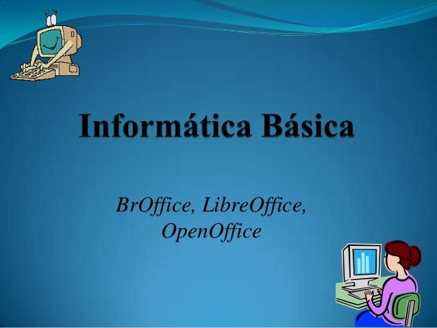 BrOffice, LibreOffice, OpenOffice