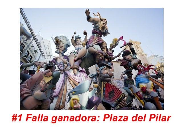 #1 Falla ganadora: Plaza del Pilar