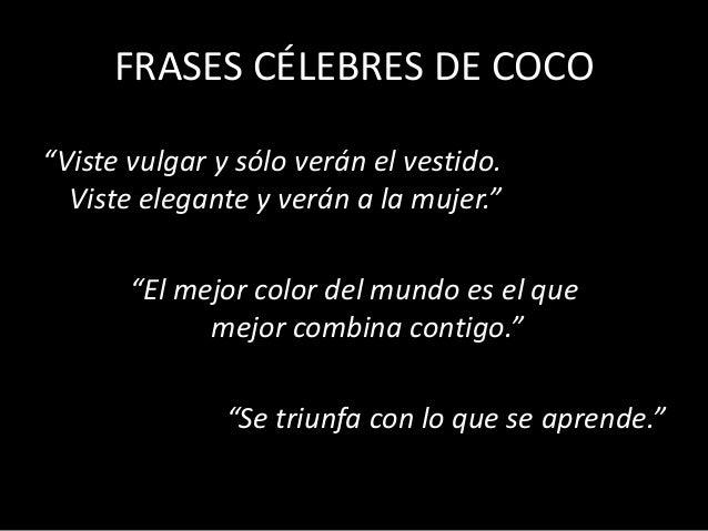 Introducción A La Moda Y Coco Chanel