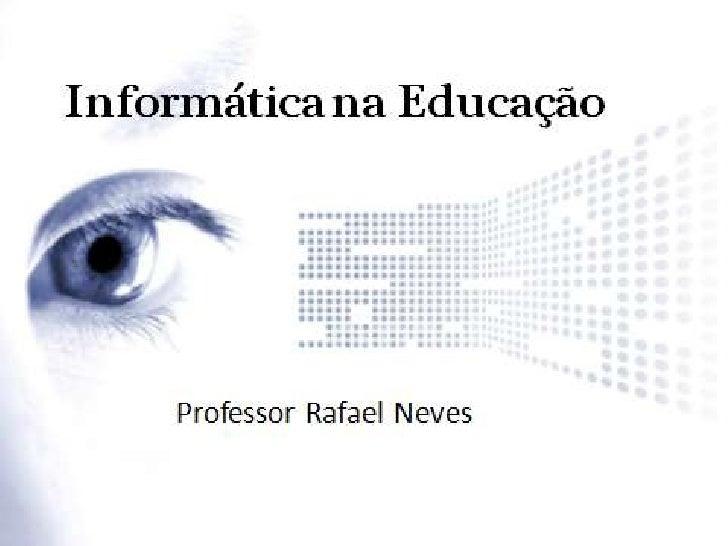 Informática na educação - 2