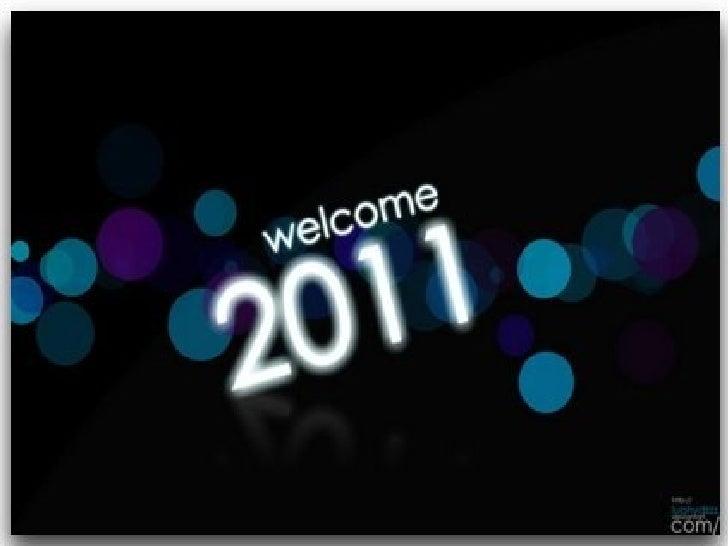Desitjos i bons propòsits per a lany                 2011      ●   Benediccions per tothom en               aquest nou any