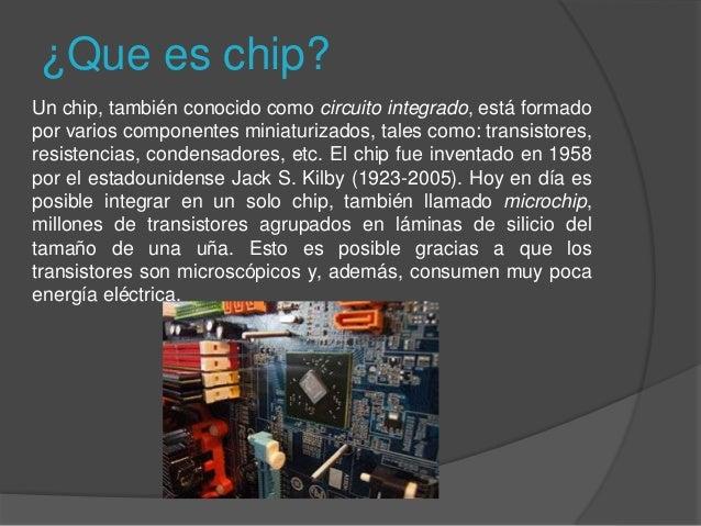 Chip conectividad computadora banda ancha