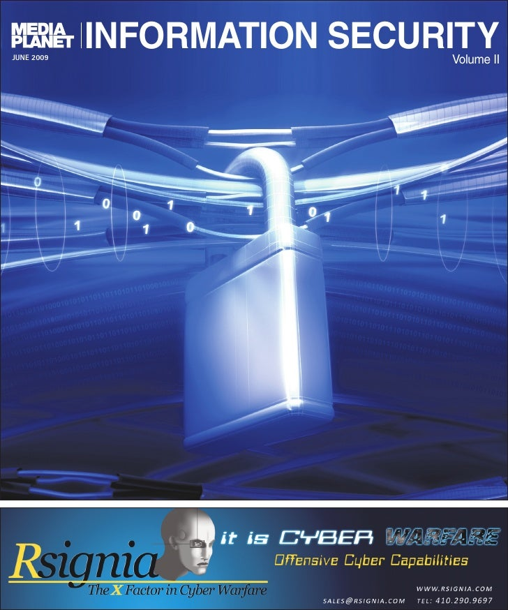 JUNE 2009             INFORMATION SECURITY                              Volume II