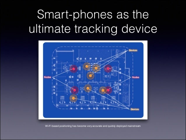 Smart-phones as the ultimate tracking device  Wi-Fi based positioning has become very accurate and quickly deployed mainst...