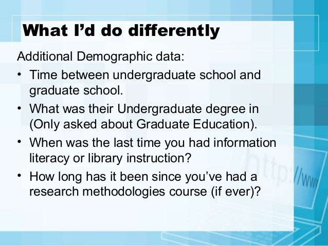 the information seeking behavior of graduate students The results afforded insights into the needs, preferences, and information-seeking behaviors of students in an online program, and have informed the library's approach in revising its supporting materials for the distance education program.