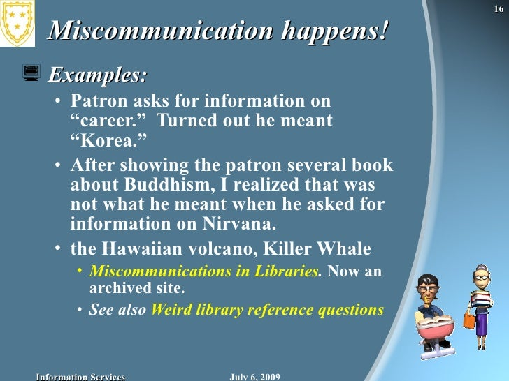 assignment upon miscommunication