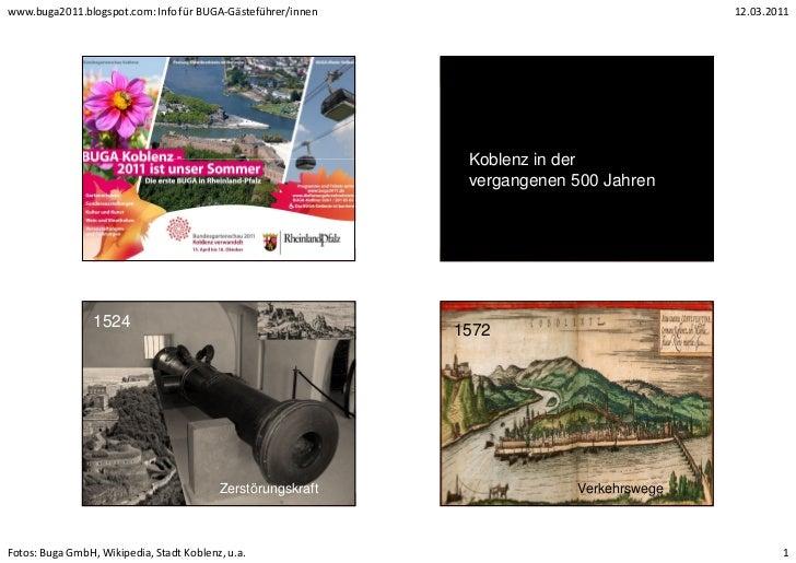 www.buga2011.blogspot.com: Info für BUGA-Gästeführer/innen                               12.03.2011                       ...