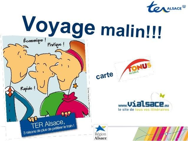 Voyage malin!!!carte