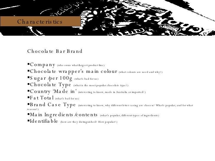 Infostudio Chocolate Bars Slide 3