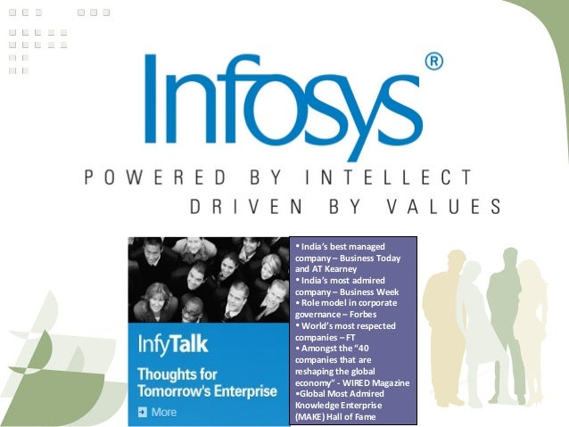 Infosys Case Study Presentation | Business | Leadership