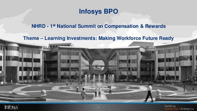 Infosys BPO   NHRD - 1st National Summit on Compensation & RewardsTheme – Learning Investments: Making Workforce Future Re...