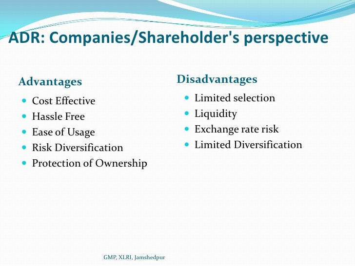 disadvantages of shareholders model The anglo-american markets are described by a philosophy that a firms objective should follow the shareholder wealth maximization (swm) model.