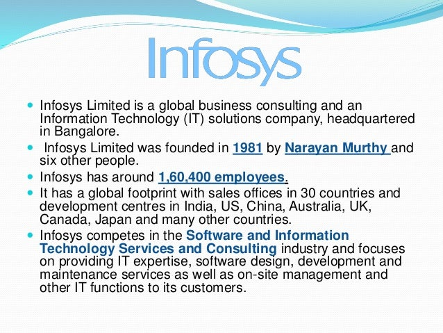 infosys the challenge of global branding case solution Infosys is a global leader in consulting, information technology, outsourcing and next-generation brandchannel: how is infosys making a truly indian brand a global leader and boosting brand enterprises today are constantly dealing with challenges and opportunities spawned by the digital.