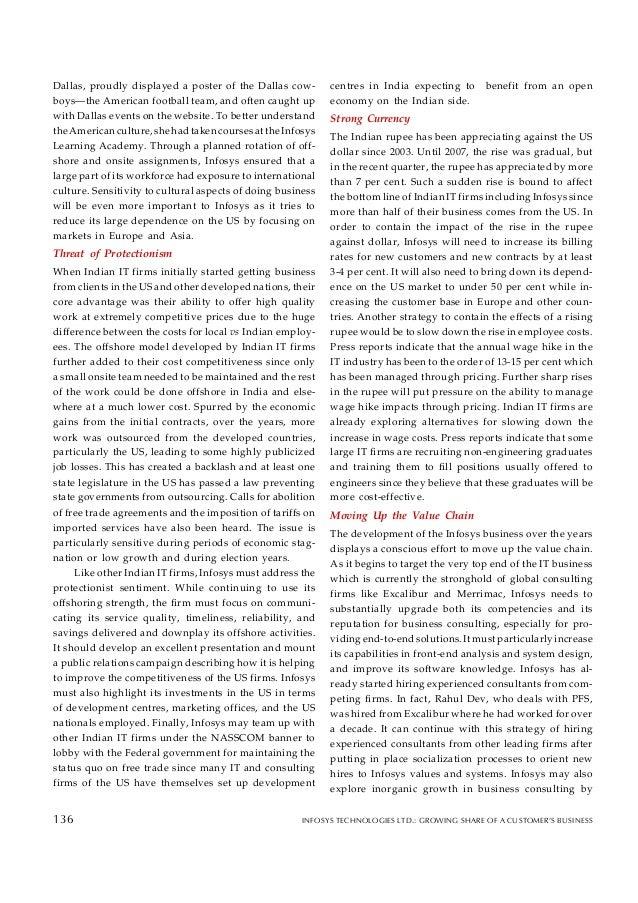 case infosys Cg case study - infosys - download as powerpoint presentation (ppt), pdf file (pdf), text file (txt) or view presentation slides online.