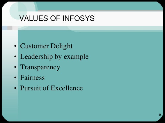 infosys objectives Following narayana murthy's concern, infosys standardises severance pay shilpa phadnis co-founder n r narayana murthy publicly questioned these payments, as did several analysts.