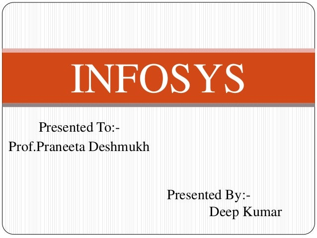 economic analysis of infosys Building the future of our aspirations infosys has been an early adopter of a strong csr agenda along with sustained economic performance and robust eco.