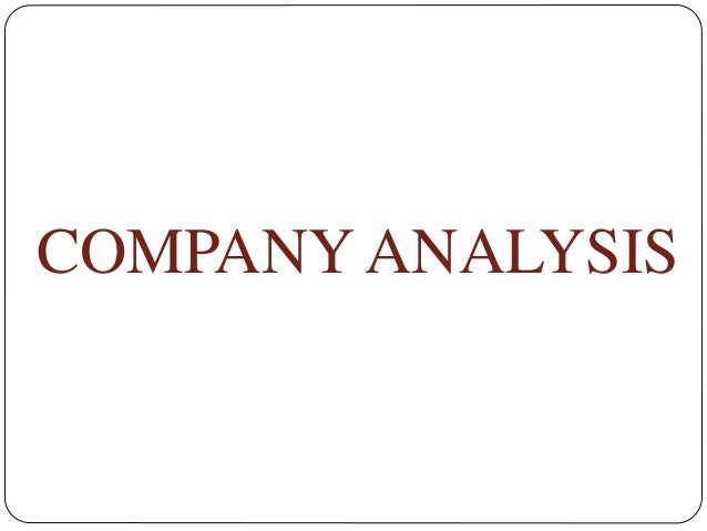 Infosys Industrial , Company Analysis And Option