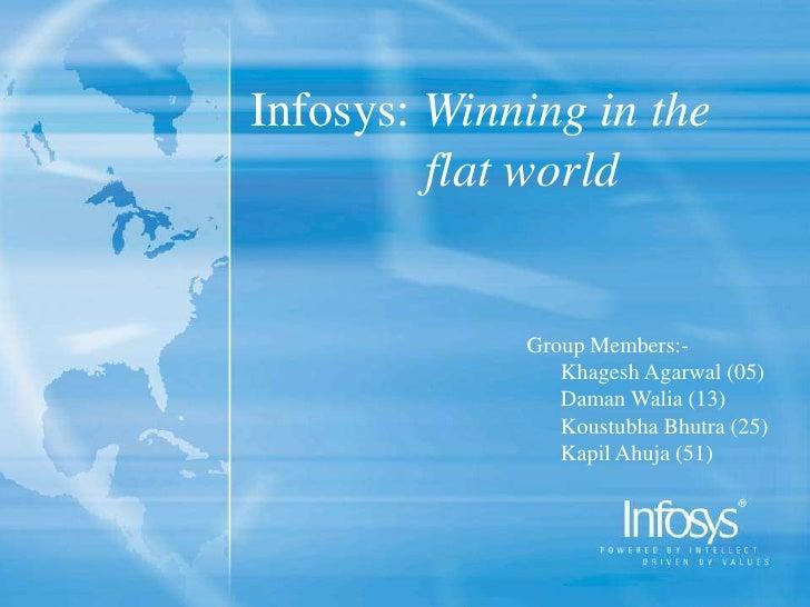Infosys Going Global