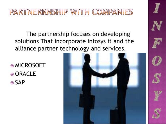 The partnership focuses on developing solutions That incorporate infosys it and the alliance partner technology and servic...