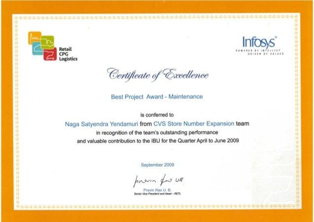 Infosys PRIMA Award