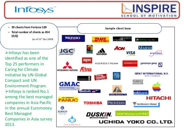 motivation in infosys Having said that, infosys was very clear that the talent of skytree was the key motivation for the acquisition, the ip is rather the icing on the cake infosys needs to drive change management as culture eats strategy for breakfast.