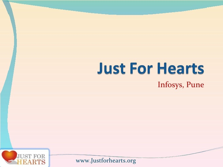 Infosys, Pune www.Justforhearts.org