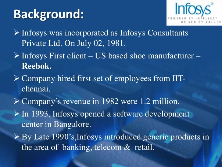 global delivery model at infosys Access to case studies expires six months after purchase date publication date: january 01, 2004 this case study focuses on infosys technologies ltd, one of the.