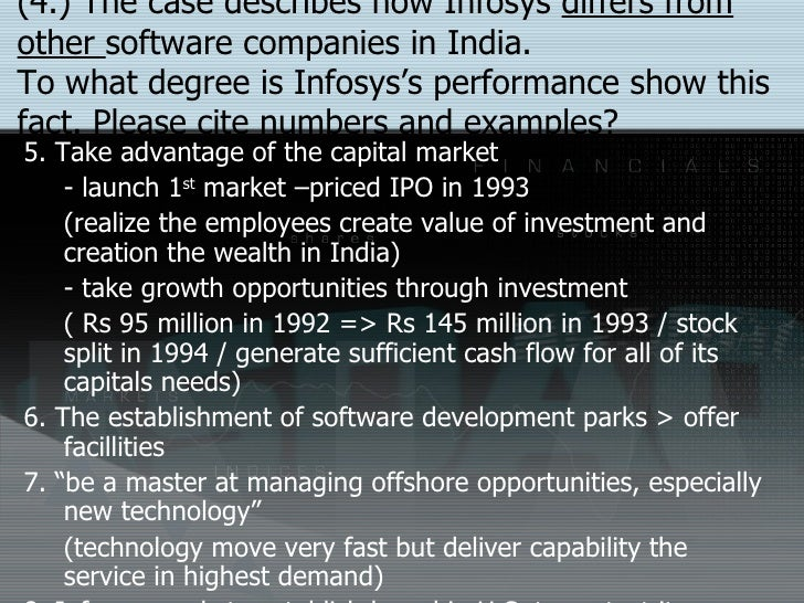 business ethics for corporate growth a case study of infosys in india Corporate level strategies for infosys essays and research papers part of this process can be derived and analyzed from the case study which i have extracted to explain the following paper will discuss the different corporate strategies: growth business.