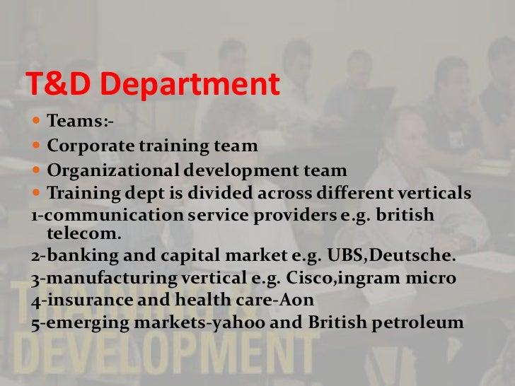 Infosys Training Design