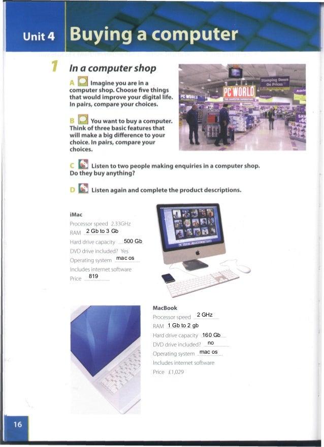 حل كتاب infotech english for computer users