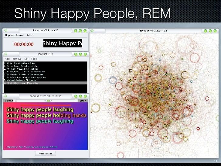 Shiny Happy People, REM                               11