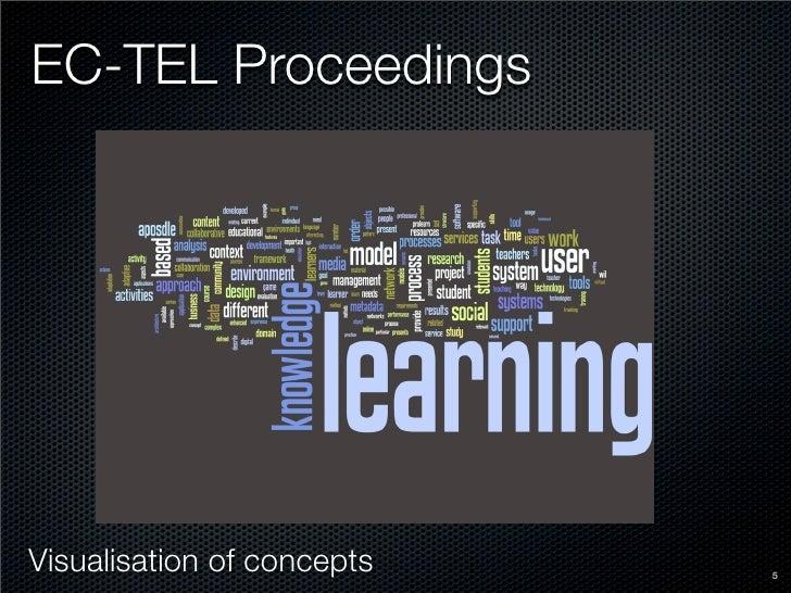 EC-TEL Proceedings     Visualisation of concepts   5
