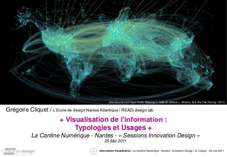 International Civil Flight Traffic Mapping in 1999 (B. Gerard, L. Briceno, B.A. Bui The Thuong / 2011)Grégoire Cliquet / L...