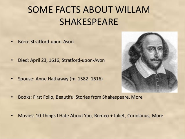 10 Things I Hate About You Shakespeare: In Fowmashon William Shakespear And Romeo And Juleyet