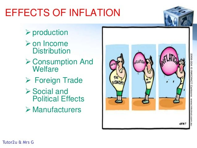 inflation causes and effects pdf
