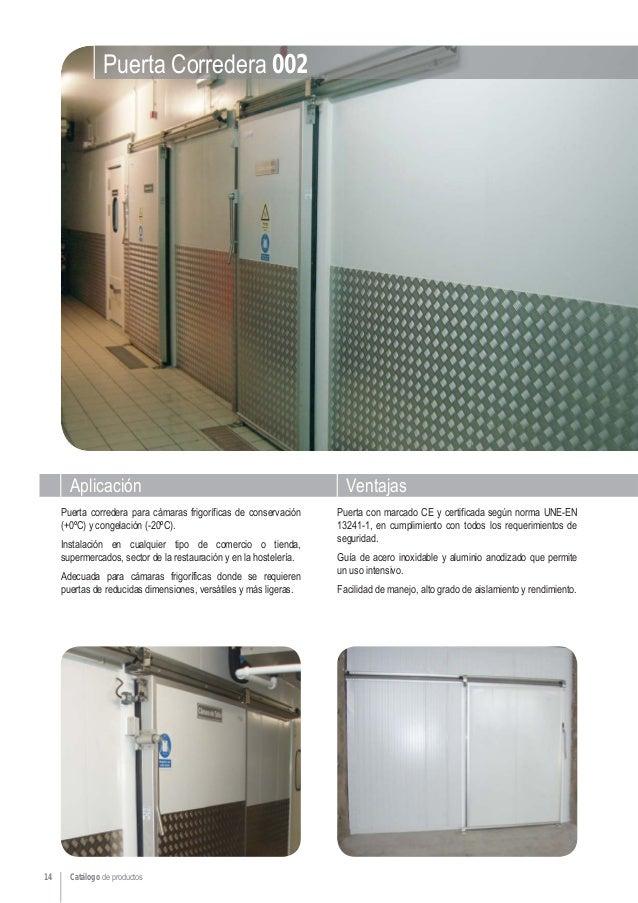 Infraca catalogo de productos - Puertas norma catalogo ...