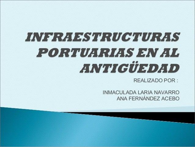 REALIZADO POR :INMACULADA LARIA NAVARROANA FERNÁNDEZ ACEBO