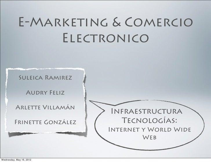 E-Marketing & Comercio                 Electronico             Suleica Ramirez                  Audry Feliz          Arlet...