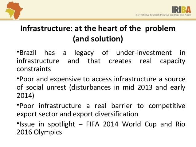 constraints on development in brazil United nations development programme and the government of brazil  mobilising domestic resources for development financing  its constraints for funding .
