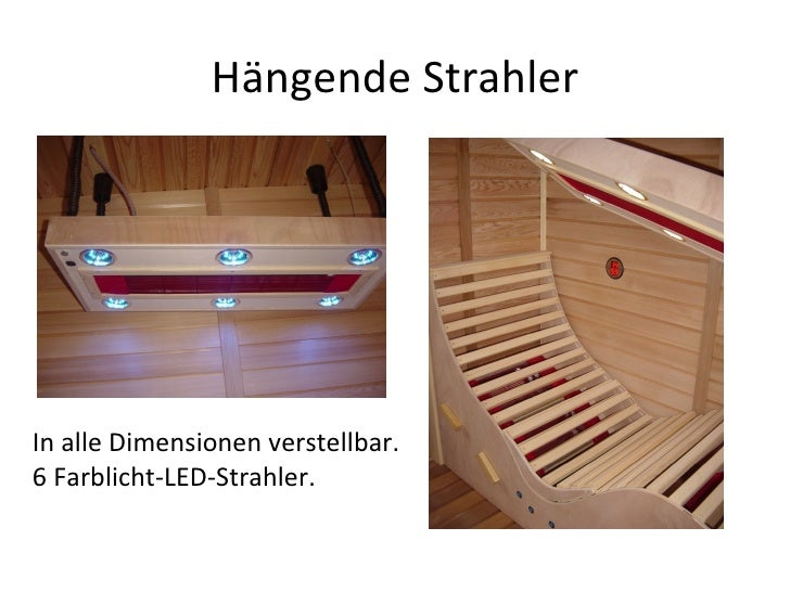 Hängende Strahler In alle Dimensionen verstellbar. 6 Farblicht-LED-Strahler.