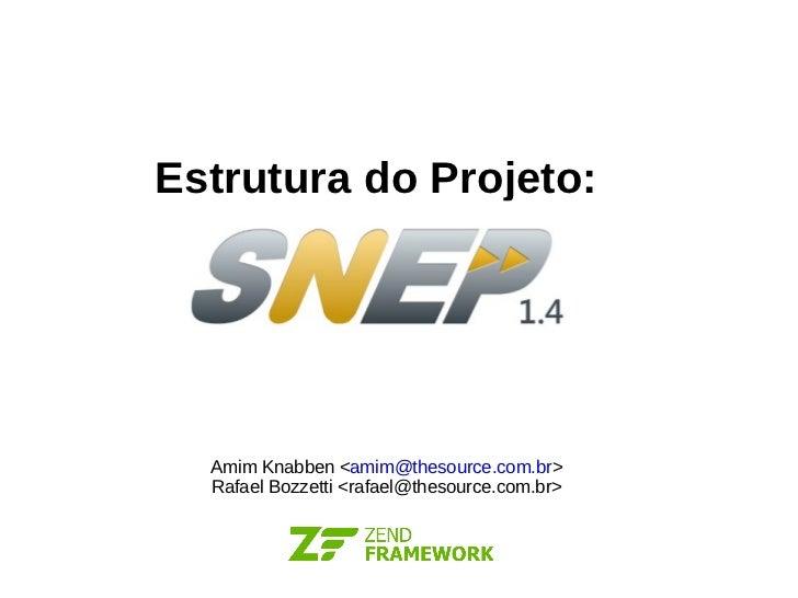 Estrutura do Projeto: Amim Knabben < [email_address] > Rafael Bozzetti <rafael@thesource.com.br>