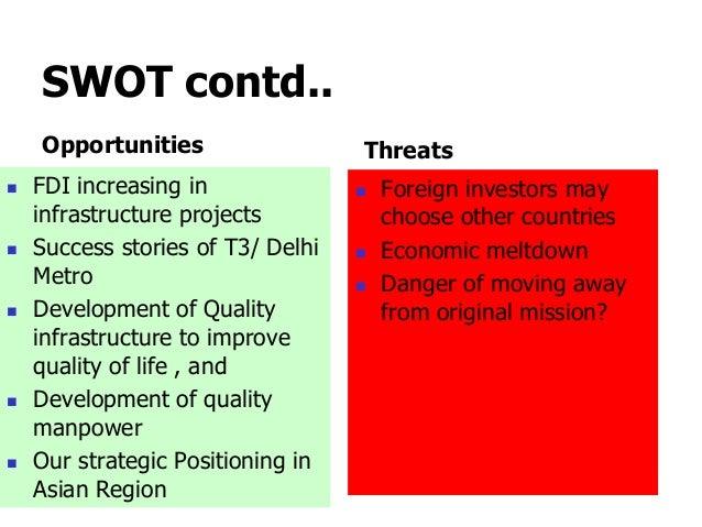 swot of delhi metro Delhi metro's swot, stp and marketing analysis along with tagline, segments,  usp etc.