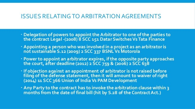 Arbitration agreements 11 issues relatingto arbitration agreements platinumwayz