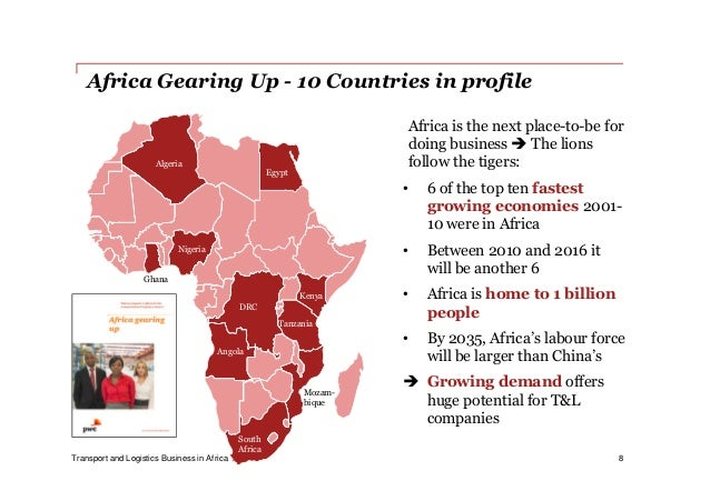 Transport and logistics business in Africa