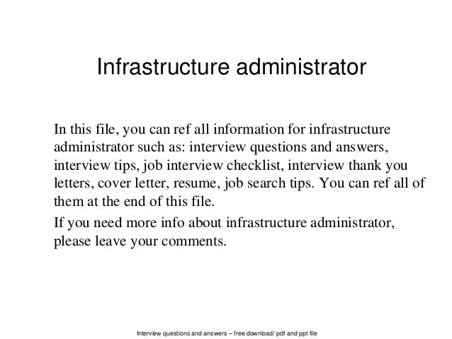 hr administrator interview questions and answers pdf
